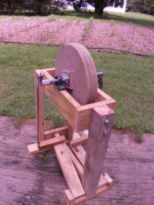 Finished Treadle Grinder